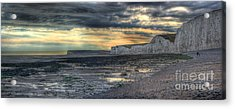 Seven Sisters - Panorama Acrylic Print by Ann Garrett