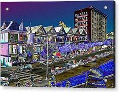 Seven Sisters Apartment Bld. Acrylic Print