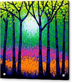 Seven Trees Acrylic Print