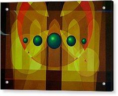 Seven Windows - 3 Acrylic Print by Alberto DAssumpcao