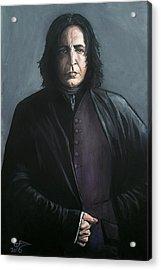 Severus Snape Acrylic Print by Tom Carlton