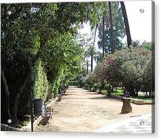 Seville Garden Pathway Iv Spain Acrylic Print