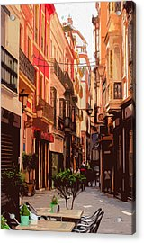 Seville, The Colorful Streets Of Spain - 02 Acrylic Print