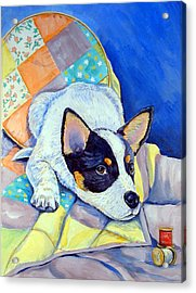 Sew Sweet Acrylic Print by Lyn Cook