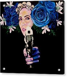 Sex Pistol Acrylic Print by Yelena Tylkina