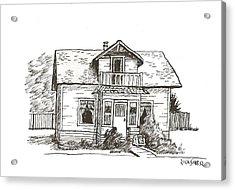 Sexsmith House Acrylic Print by Rick Stoesz