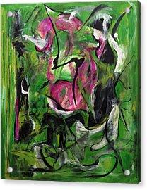 Sexual Energy Acrylic Print by Antonio Ortiz