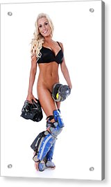 Sexy Ball Player Acrylic Print
