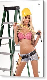Sexy Construction Worker Photograph By Bobby Deal