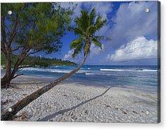 Seychelles Beach Acrylic Print