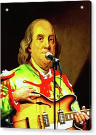 Sgt Ben's Lonely Hearts Club Band Acrylic Print