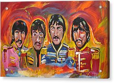 Sgt Pepper Acrylic Print by Colin O neill