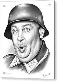 Sgt Schultz Acrylic Print