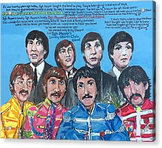 Sgt.pepper's Lonely Hearts Club Band Acrylic Print