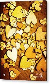 Shabby Love Artwork Acrylic Print