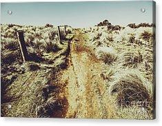 Shabby Outback Path Acrylic Print