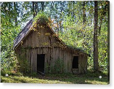 Shack In The Woods Acrylic Print