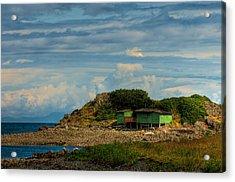 Shack Island Acrylic Print by R J Ruppenthal