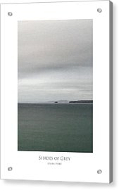 Acrylic Print featuring the digital art Shades Of Grey by Julian Perry