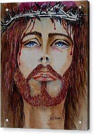 Shades Of Jesus Acrylic Print