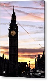 Shades Of London Acrylic Print by John Rizzuto