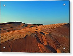 Shades Of Sand Acrylic Print