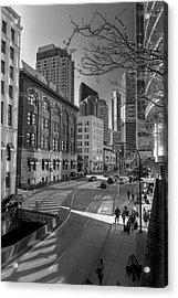 Shades Of The City Acrylic Print