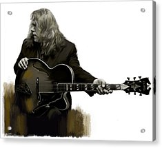 Shades Of Tone Iv Warren Haynes  Acrylic Print