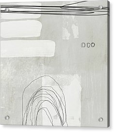 Shades Of White 2 - Art By Linda Woods Acrylic Print