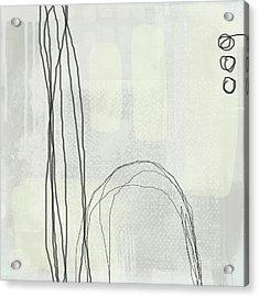 Shades Of White 3 - Art By Linda Woods Acrylic Print