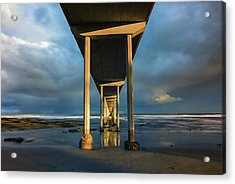 Shadow And Light Acrylic Print by Joseph S Giacalone