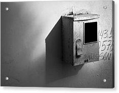 Shadow Box 2006 1 Of 1 Acrylic Print