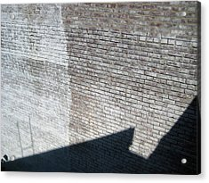 Shadow Brick Acrylic Print by Sean Owens