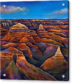 Shadow Canyon Acrylic Print by Johnathan Harris