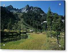 Shadow Creek - Mount Ritter And Reflections Acrylic Print