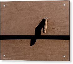 Acrylic Print featuring the photograph Shadow Handle by Britt Runyon