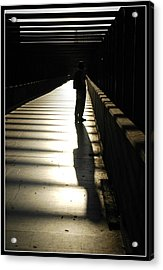 Shadow Of Hers Acrylic Print by Diego Bonomo