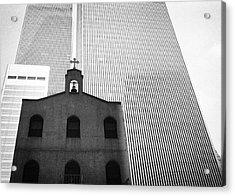Shadow Of World Trade Center Acrylic Print