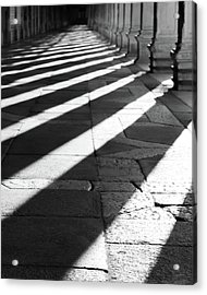Shadow Play - Venice, Italy Acrylic Print