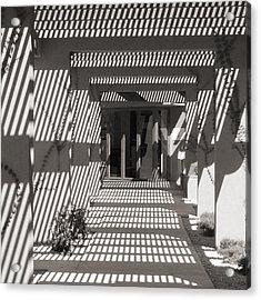 Shadow Puzzle Acrylic Print