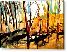 Shadow Trees Acrylic Print