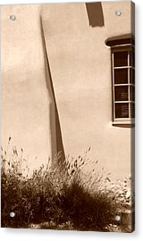 Shadows And Light In Santa Fe Acrylic Print