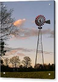Acrylic Print featuring the photograph Shadows Fall  by Bonnie Willis