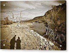 Shadows Lurking Acrylic Print by Keith Sanders