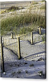 Shadows On The Dune Acrylic Print