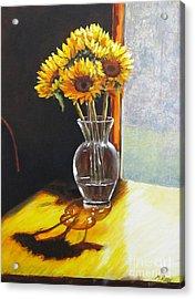 Shadows Acrylic Print by Pam Raney
