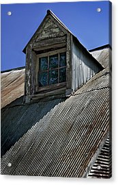 Shadows Reflections And Lines Acrylic Print by Murray Bloom