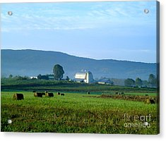 Shady Valley Farm Acrylic Print