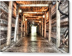 Shafted Acrylic Print by Michael Garyet