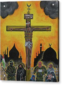 Shahid Or Martyr Acrylic Print
